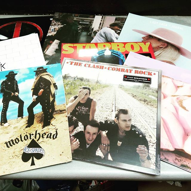 Another sneak peak. Just a few of some of the vinyl that came in today #vinyl #burlington