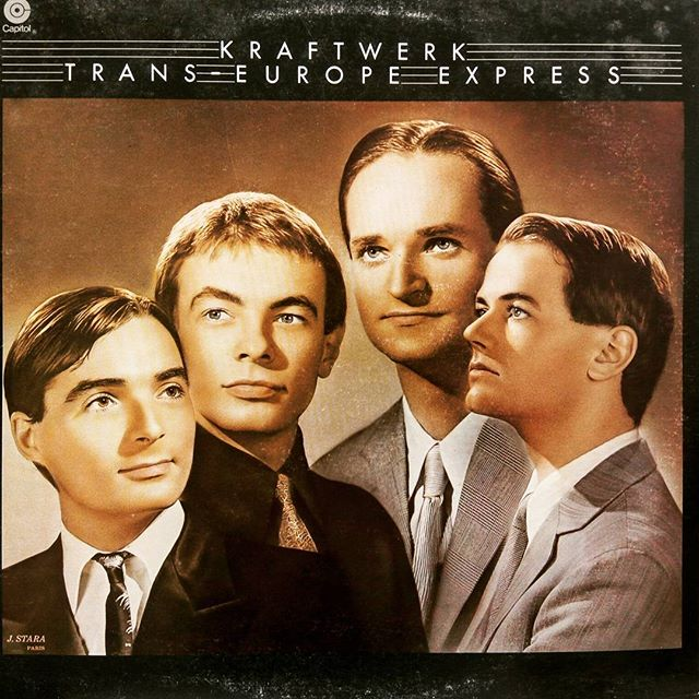 Kraftwerk - Trans-Europe Express #vinyloftheday #electronic #vinyl #burlington #vinylcollection