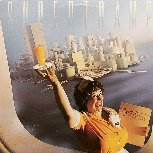 Supertramp - Breakfast in America #vinyloftheday #burlington #vinyl #blackduckentertainment