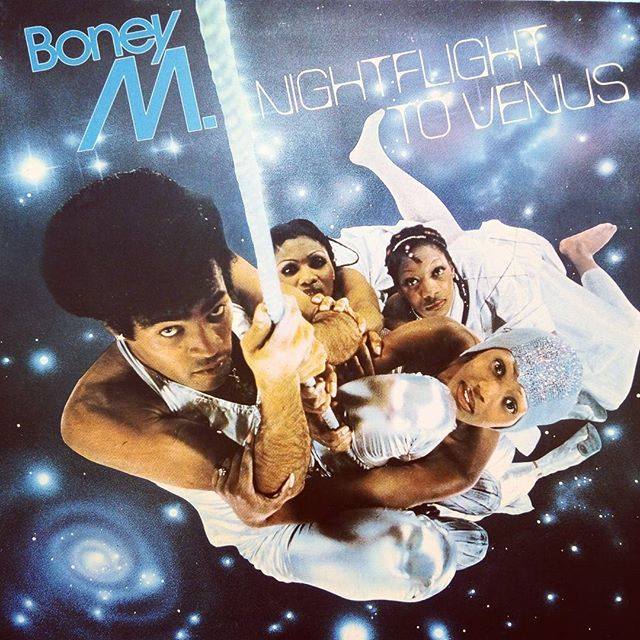 Boney M. - Nightflight to Venus. Gotta play this everytime it comes in. #vinyloftheday #boneym #disco #vinyl #burlington #recordstore #blackduckentertainment