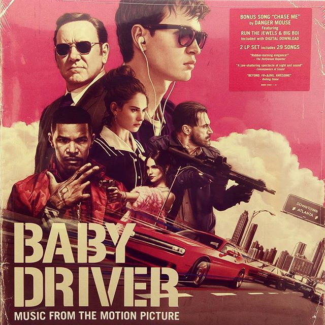 Baby Driver OST. #vinyloftheday Saw this last night, great movie with a great soundtrack! #babydriver #soundtrack #vinyl #blackduckentertainment #BurlON #HamOnt #recordstore