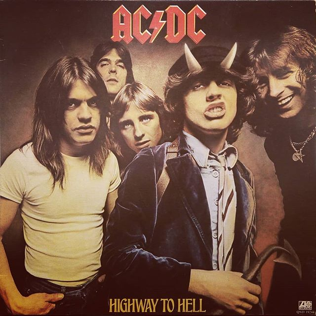 RIP Malcolm. AC/DC - Highway To Hell #acdc #vinyloftheday #albumoftheday #blackduckentertainment #BurlON #HamOnt #recordstore