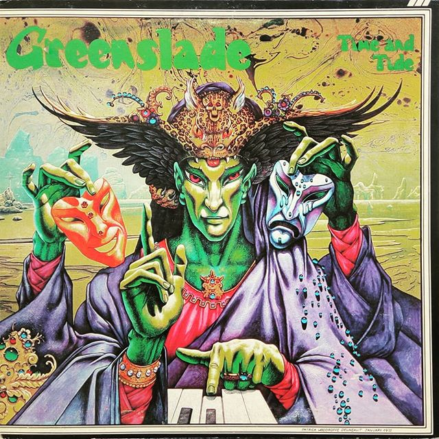 Greenslade - Time and Tide#trippy #albumart #vinylrecords #blackduckentertainment #BurlOn #HamOnt #recordshop