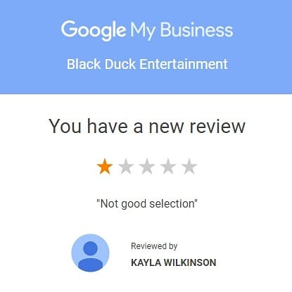 Super proud of our very first 1 star review!#blackduckentertainment #BurlON #HamOnt #recordshop