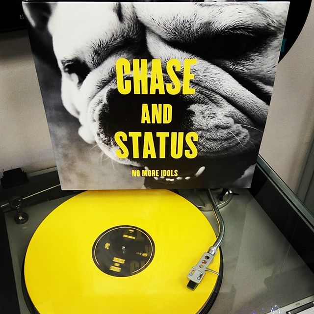 Chase and Status - No More IdolsStoked this #recordstoreday release finally showed up!#drumandbass #vinyl #records #blackduckentertainment #BurlOn #HamOnt #dnb @chaseandstatus