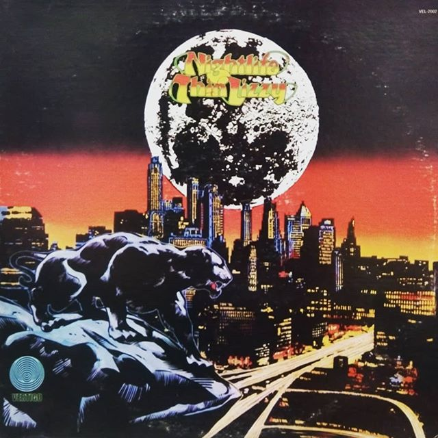 Thin Lizzy - Nightlife#rock #vinyl #records #blackduckentertainment #BurlOn #HamOnt #recordshop #albumcover